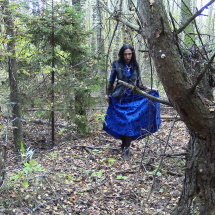 Ulyana Medium mystical forest dress