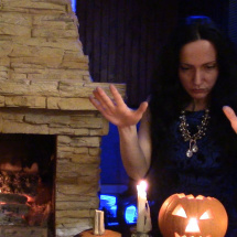 Ulyana Medium Halloween fireplace